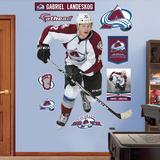 NHL Colorado Avalanche Gabriel Landeskog Wall Decal Sticker Wallstickers