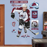 NHL Colorado Avalanche Gabriel Landeskog Wall Decal Sticker Wall Decal
