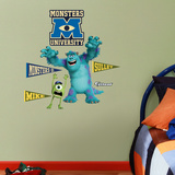 Disney Monsters University Mike and Sulley Junior Wall Decal Sticker Wall Decal