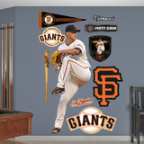 San Francisco Giants Matt Cain Wall Decal Sticker Wall Decal