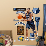 Memphis Grizzlies Tony Allen Wall Decal Sticker Wall Decal