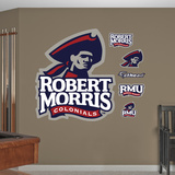 NCAA Robert Morris Colonials Logo Wall Decal Sticker Wall Decal