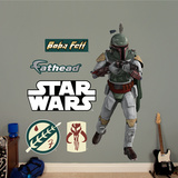 Star Wars Boba Fett 2011 Wall Decal Sticker Wall Decal