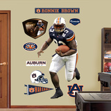 NCAA/NFLPA Auburn Tigers Ronnie Brown Wall Decal Sticker Wall Decal