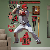 Arizona Diamondbacks Paul Goldschmidt Wall Decal Sticker Wall Decal