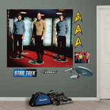Star Trek The Original Series Crew Mural Decal Sticker Wallstickers