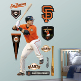 San Francisco Giants Buster Posey Wall Decal Sticker Wallstickers