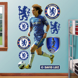 Chelsea FC David Luiz Wall Decal Sticker Wall Decal