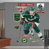 NHL Minnesota Wild NHL Zach Parise 2012 Wall Decal Sticker Wallstickers
