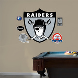 Oakland Raiders AFL Logo Wall Decal Sticker Wall Decal