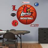 NCAA Louisville Cardinals Basketball Logo Wall Decal Sticker Wallstickers