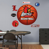 NCAA Louisville Cardinals Basketball Logo Wall Decal Sticker Wall Decal