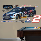 Nascar Brad Keselowski 2013 Miller Light Car Wall Decal Sticker Wall Decal
