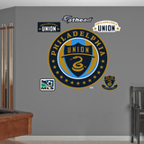MLS Philadelphia Union 2013 Logo Wall Decal Sticker Wall Decal