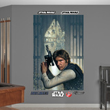 Star Wars Han Solo Mural Decal Sticker Wall Decal
