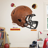 Washington Redskins Leather Helmet Wall Decal Sticker Wall Decal