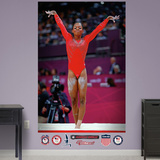 Gymnastics Gabby Douglas Finish Mural Decal Sticker Wall Decal