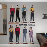 Star Trek The Next Generation Collection Wall Decal Sticker Wall Decal