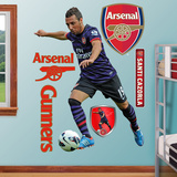 Arsenal Gunners Santi Cazorla Wall Decal Sticker Wall Decal