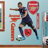 Arsenal Gunners Santi Cazorla Wall Decal Sticker Wall Decal