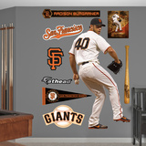 San Francisco Giants Madison Bumgarner Wall Decal Sticker Wall Decal