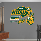 NCAA North Dakota State Bison Logo Wall Decal Sticker Wall Decal