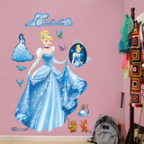 Cinderella - From Rags to Riches Wall Decal Sticker Vinilos decorativos