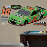Nascar Danica Patrick 2013 GoDaddy Car Wall Decal Sticker Wall Decal