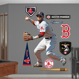 Boston Red Sox Dustin Pedroia - Second Baseman Wall Decal Sticker Wallstickers