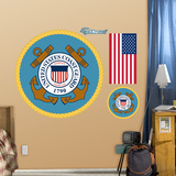 Military Coast Guard Logo Wall Decal Sticker Wall Decal