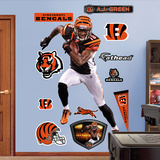NFL Cincinnati Bengals Cincinnati Bengals - AJ Green Wall Decal Sticker Wall Decal