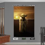 Star Wars Yoda Jedi Knights Mural Decal Sticker Bildetapet