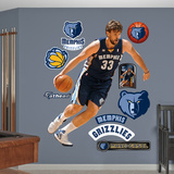 Memphis Grizzlies Marc Gasol Wall Decal Sticker Wall Decal