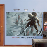 Sneak Attack Mural: Assassin's Creed III Wall Decal Sticker Reproduction murale