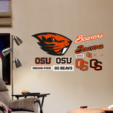 NCAA Oregon State Beavers 2013 Junior Logosheet Wall Decal Sticker Wallstickers