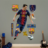 FC Barcelona Lionel Messi Wall Decal Sticker Kalkomania ścienna
