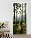 Forest Door Wallpaper Mural Wallpaper Mural