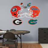 NCAA Florida-Georgia Rivalry Pack Wall Decal Sticker Wallstickers