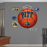 NCAA Pittsburgh Panthers Pitt Basketball Logo Wall Decal Sticker Wallstickers