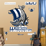 NCAA Western Washington University Logo Wall Decal Sticker Wall Decal