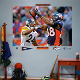 NFL Denver Broncos Demaryius Thomas Playoff Mural Decal Sticker Wall Decal