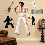 Elvis Presley - The King of Rock 'n' Roll Wall Decal Sticker Muursticker