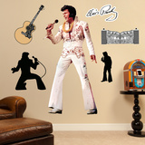 Elvis Presley - The King of Rock 'n' Roll Wall Decal Sticker Wall Decal