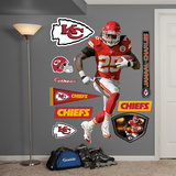 NFL Kansas City Chiefs Jamaal Charles Wall Decal Sticker Wall Decal