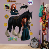 Brave Merida Angus Wall Decal Sticker Wall Decal
