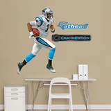 Carolina Panthers Cam Newton Junior Wall Decal Sticker Wall Decal