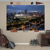 Soldier Field Skyline Mural Decal Sticker Wall Decal