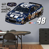 Nascar Jimmie Johnson 2013 Lowes Car Wall Decal Sticker Wall Decal