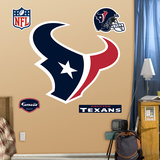 Houston Texans Logo Wall Decal Sticker Wall Decal