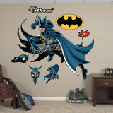Batman in Action Wall Decal Sticker Wall Decal